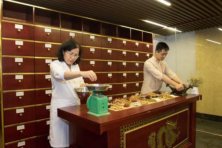 Nhất Nam Định Tâm Khang được gia giảm thành phần theo Tỷ lệ vàng.