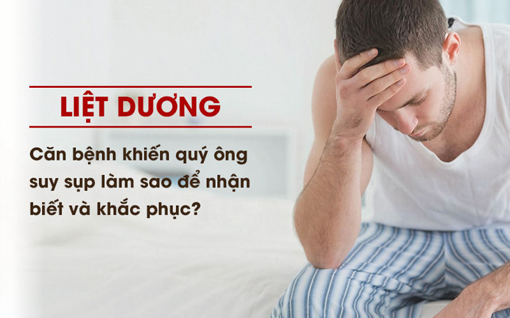 Liệt dương bất lực - Căn bệnh khiến nam giới đánh mất bản lĩnh đàn ông của mình
