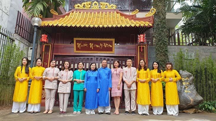 Nhất Nam Y Viện là đơn vị đầu tiên phục dựng lại mô hình khám chữa bệnh của triều Nguyễn