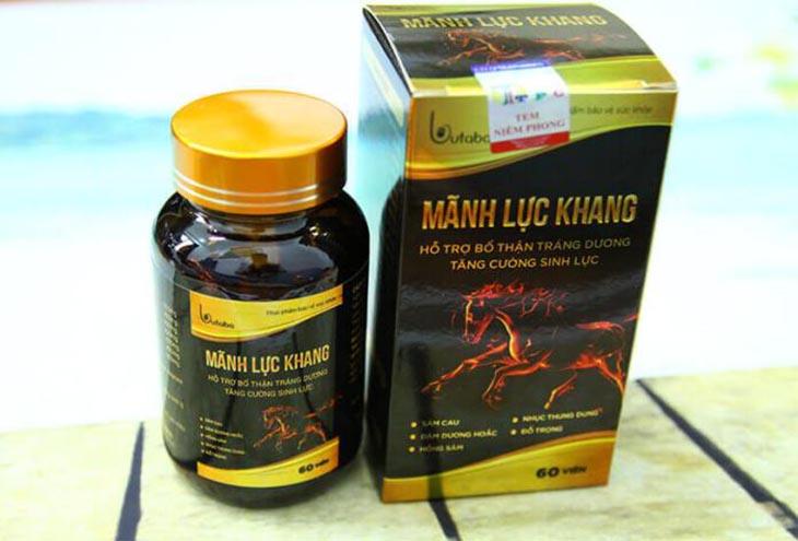 Mãnh lực khang - thuốc chữa yếu sinh lý hiệu quả