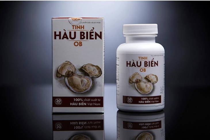 Tinh hàu biển OB có chiết xuất 100% từ hàu biển của Việt Nam
