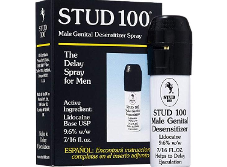 Chai xịt chữa bệnh xuất tinh sớm Stud 100 được nhiều nam giới ưa chuộng