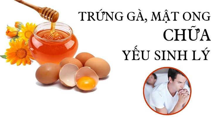 Chữa yếu sinh lý không cần thuốc bằng trứng gà là biện pháp điều trị đơn giản, hiệu quả