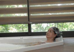 ngâm tắm thảo dược thuỷ long dưỡng thể