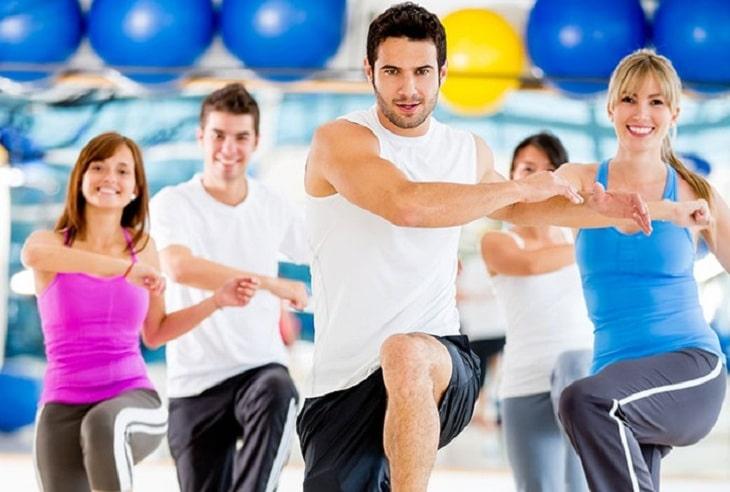 Aerobic là bài tập giúp nam giới tìm ra những tư thế yêu mới mẻ giúp cuộc yêu thăng hoa hơn
