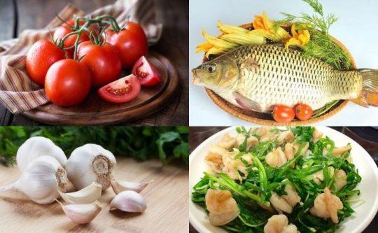thực phẩm chữa rối loạn cương dương