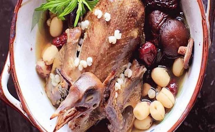 Món ăn từ chim hầm thịt thỏ có thể tự áp dụng tại nhà