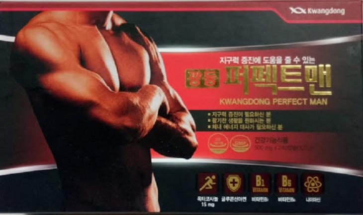 Kwang Perfect Man lọt Top sản phẩm tăng cường sinh lý nam tốt nhất thế giới