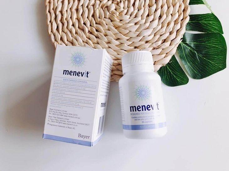 Menevit giúp bổ sung vitamin, khoáng chất có lợi giúp phái mạnh tăng cường sinh lý hiệu quả