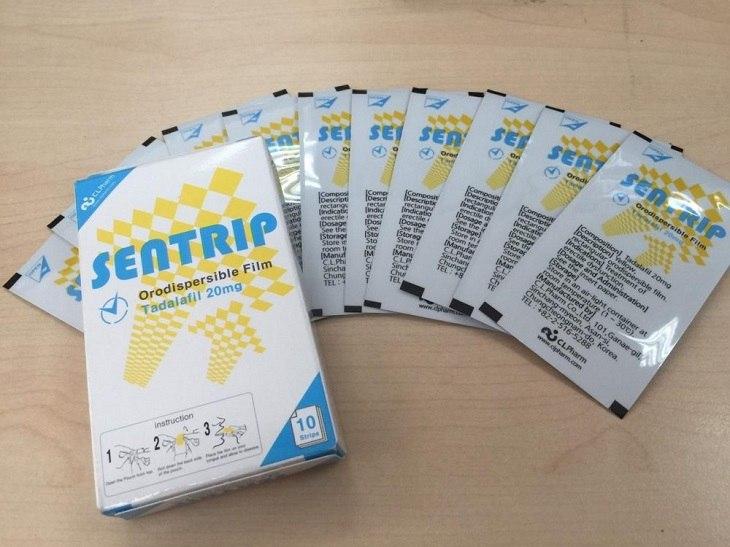 Tem ngậm Sentrip được ưa chuộng, lưu hành phổ biến tại nhiều quốc gia