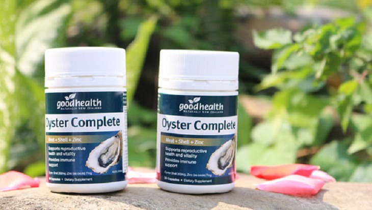 Tinh chất hàu Oyster Complete giúp cải thiện chức năng sinh lý nam