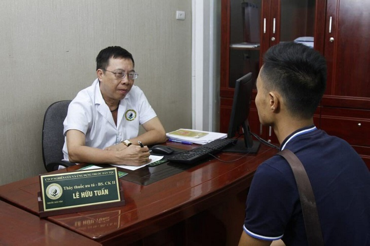 Bác sĩ chuyên khoa II - Thầy thuốc ưu tú Lê Hữu Tuấn