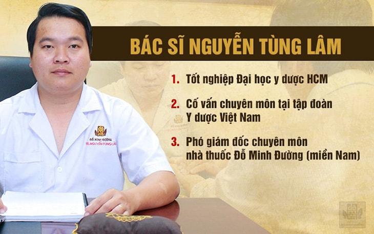 Lương y Nguyễn Tùng Lâm chữa bệnh nam khoa nổi tiếng tại Hồ Chí Minh