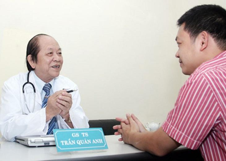 GS.TS. Bác sĩ Trần Quán Anh - Bác sĩ chữa liệt dương giỏi