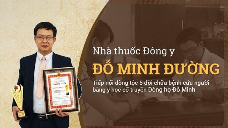 Bác sĩ Đỗ Minh Tuấn - Giám đốc chuyên môn Nhà thuốc Đông y Đỗ Minh Đường