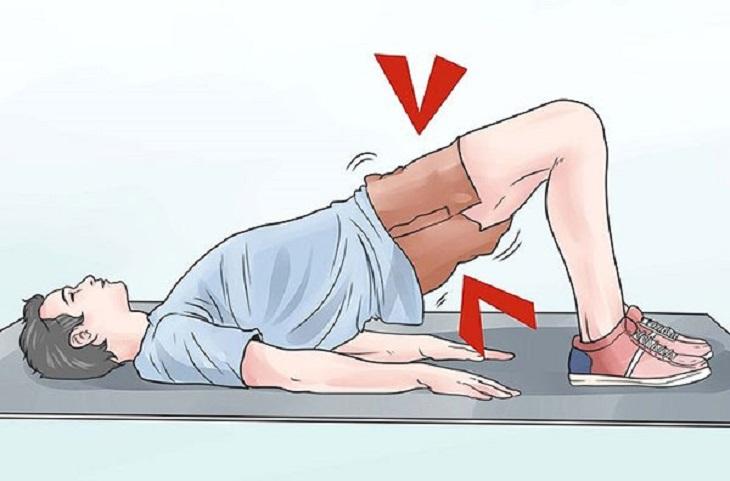 Mỗi ngày chỉ cần dành ra khoảng 10 phút để thực hiện động tác kegel chữa di tinh