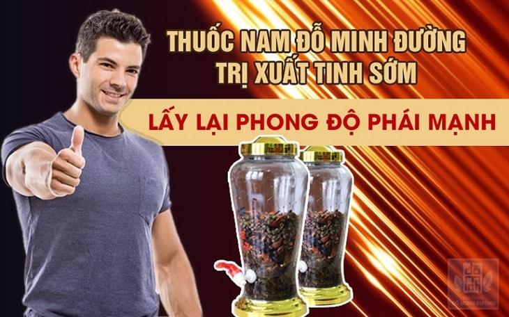 Rượu thuốc Hồi xuân phục dương thang của Đỗ Minh Đường