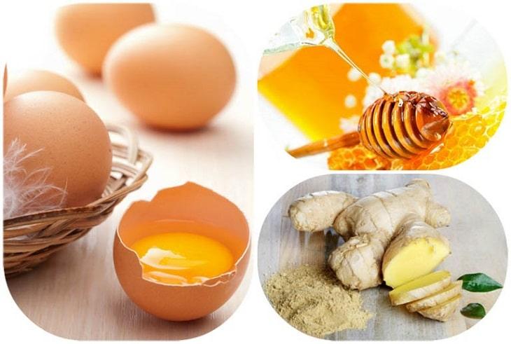Chữa xuất tinh sớm bằng trứng gà, gừng và mật ong