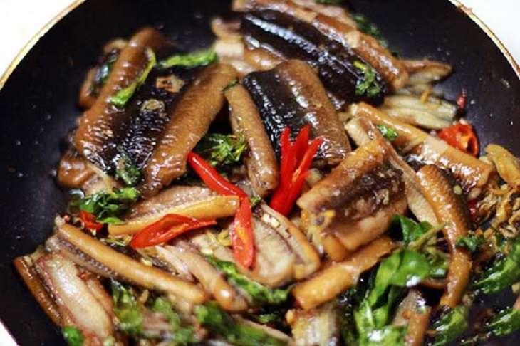 Món lươn om vừa ngon miệng vừa tốt cho sức khỏe sinh lý