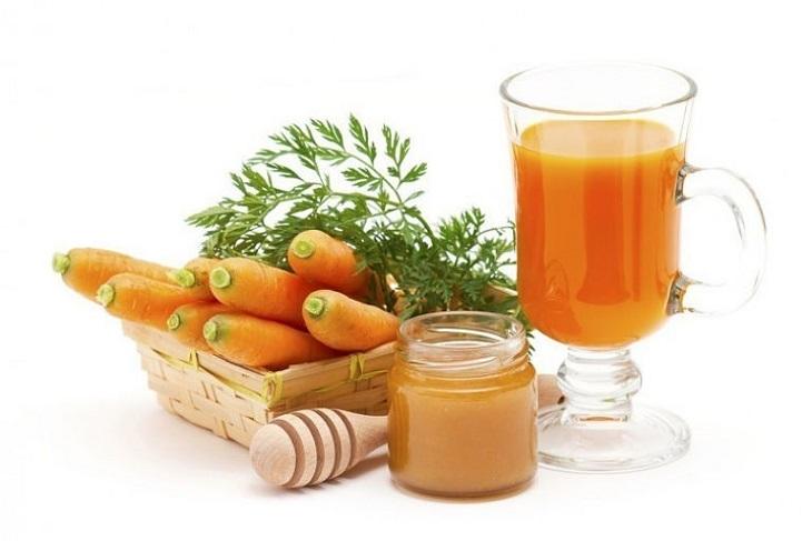 Thành phần beta carotene trong cà rốt giúp tăng lưu thông máu để dương vật cương cứng lâu hơn