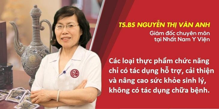 Bác sĩ Vân Anh đã có hơn 30 năm kinh nghiệm khám chữa bệnh theo YHCT,