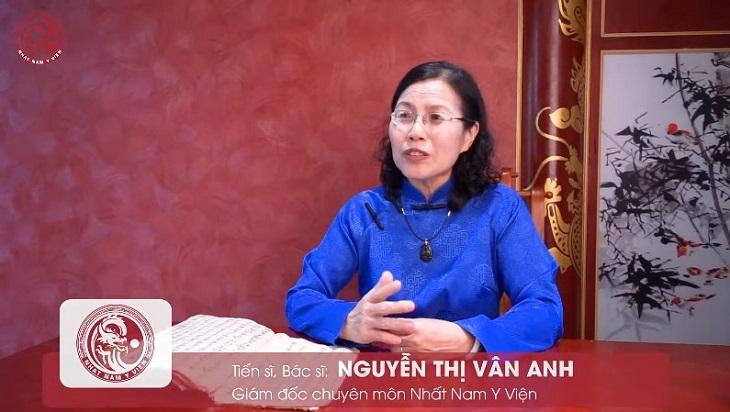 Tiến sĩ, bác sĩ Nguyễn Thị Vân Anh nói bài thuốc Uy Long Đại Bổ