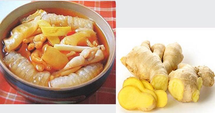 Bạn có thể bổ sung gừng vào các món ăn để tăng hương vị và chữa rối loạn cương dương