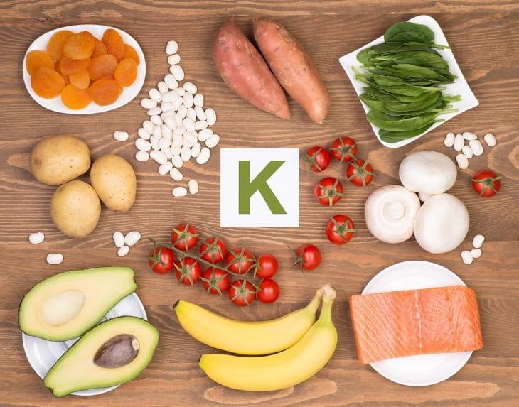 Không sử dụng nhiều thực phẩm chứa hàm lượng kali cao