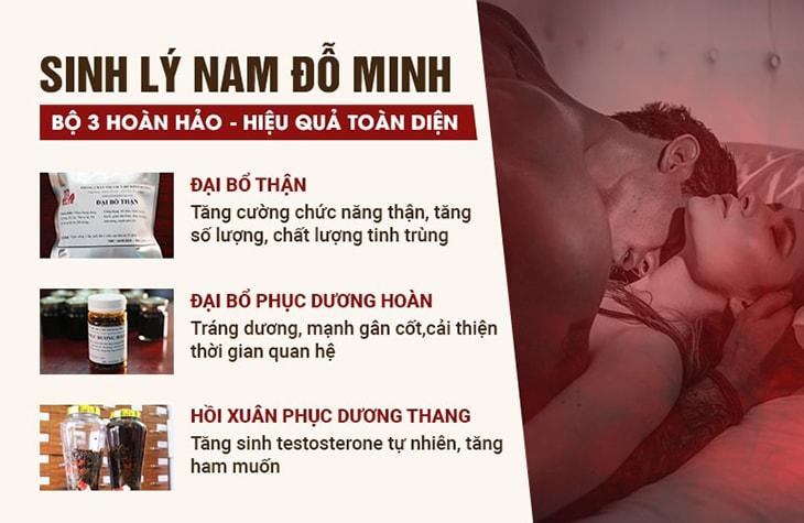 Thuốc chữa yếu sinh lý tại Đỗ Minh Đường được nhiều người bệnh đánh giá cao