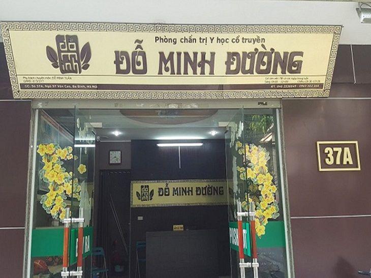 Nhà thuốc Đỗ Minh Đường là thương hiệu lớn uy tín, chất lượng