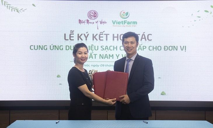 Nhất Nam Y Viện lựa chọn Vietfarm là đơn vị cung ứng dược liệu sạch cho bài thuốc Uy Long Đại Bổ