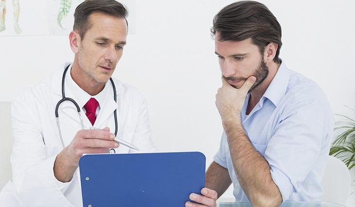 Bệnh nhân nên đến bác sĩ để có lời khuyên chính xác