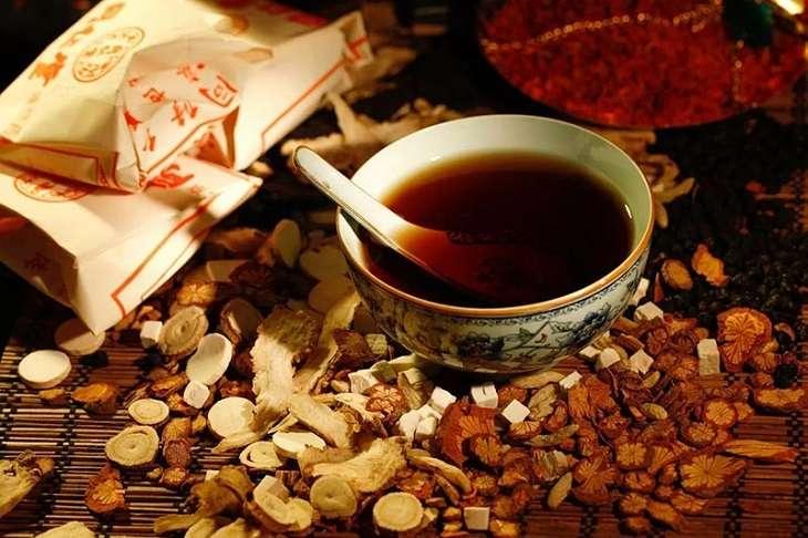 Thuốc sắc giúp chiết kiệt toàn bộ dược chất trong rễ cau