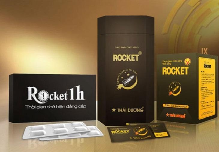 Rocket 1h là sản phẩm được nam giới Việt Nam ưa chuộng và tin dùng