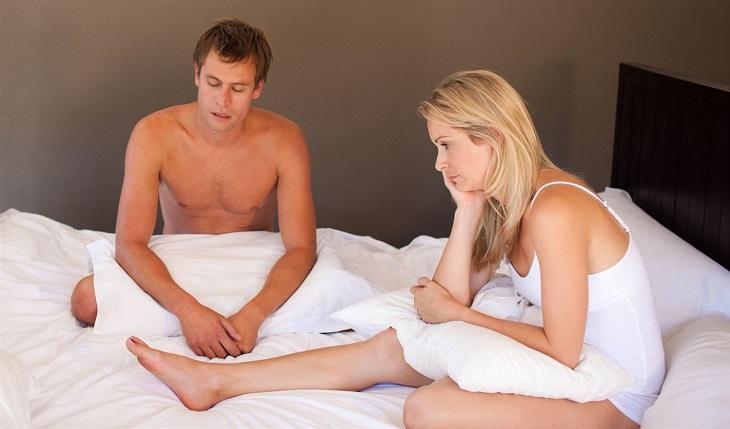 Rối loạn cương dương tạm thời do tình trạng suy giảm testosterone