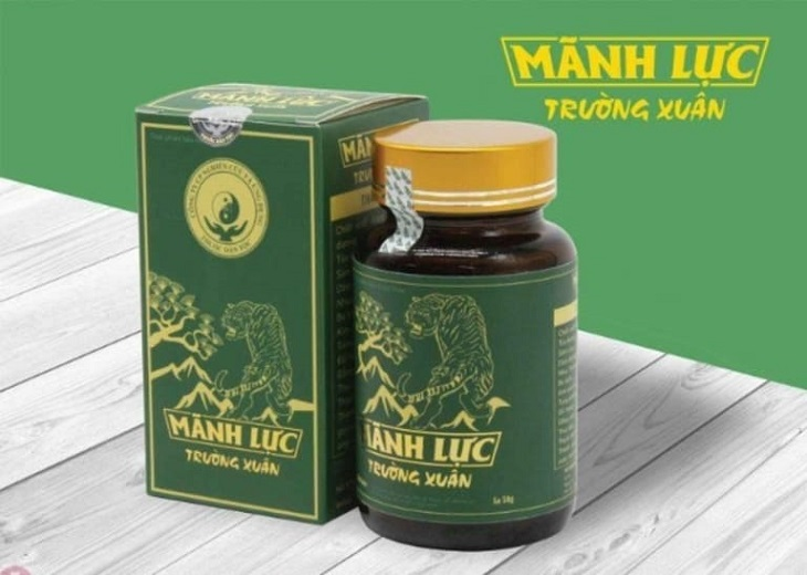 Mãnh lực Trường xuân là thuốc tăng cường chức năng thận được phát triển từ bí kíp được lưu truyền nhiều đời của người Thái