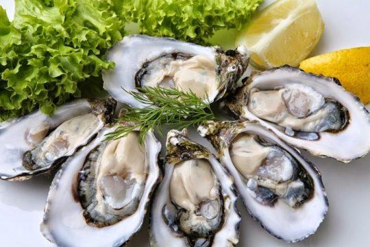 Hàu là thực phẩm tăng cường sinh lý nam tốt nhất
