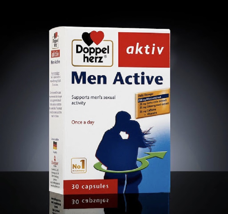 Men Active hỗ trợ cải thiện sinh lý nam