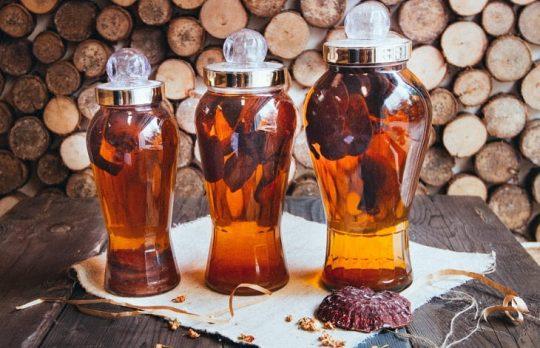 Rượu nấm ngọc cẩu tốt cho sinh lực phái mạnh