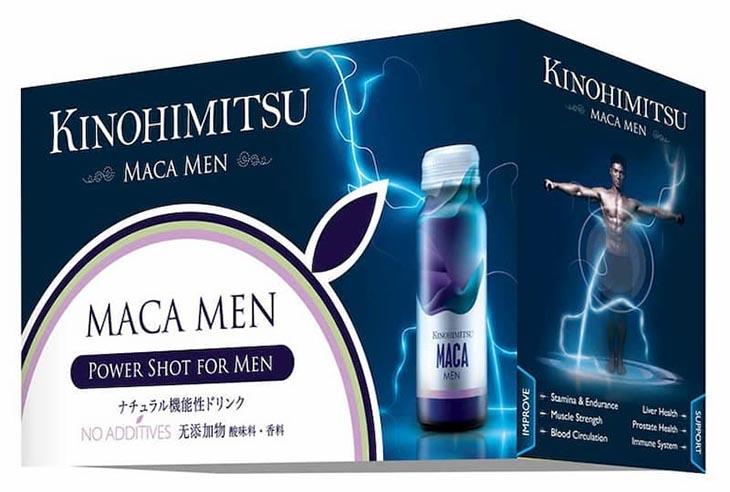 Kinohimitsu Maca Men là nước uống tăng cường sinh lý nam của Nhật được nhiều nam giới yêu thích