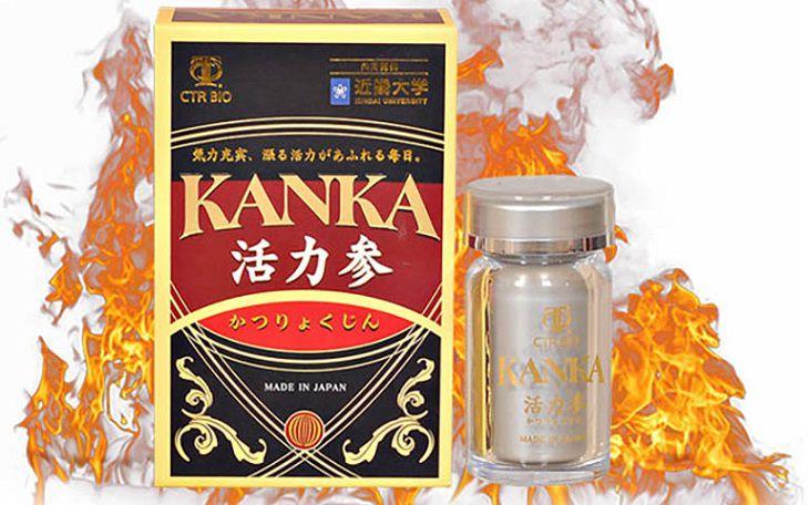 Viên uống tăng sinh lý nam của nhật Kanka
