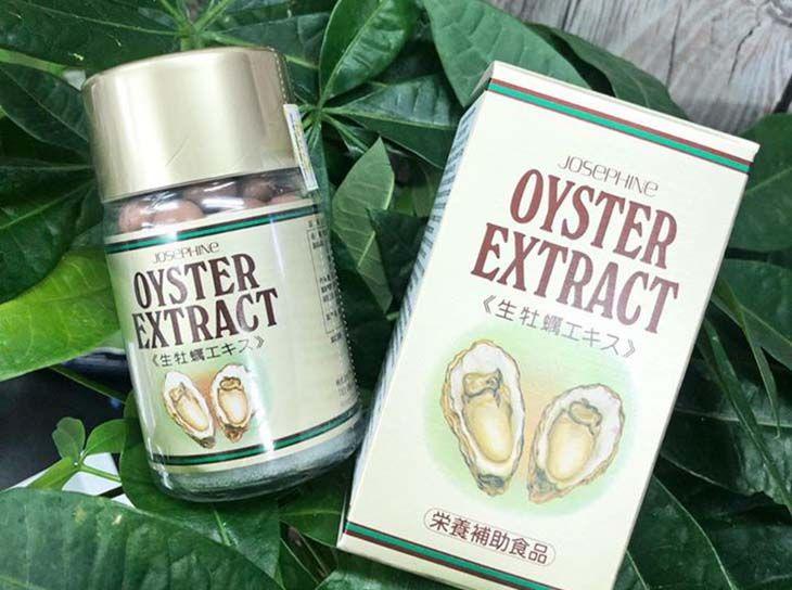 Viên uống trị yếu sinh lý nam của nhật Josephine Oyster Extract