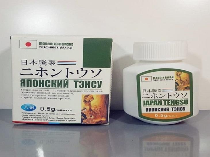 Japan Tengsu - thuốc trị liệt dương của Nhật Bản
