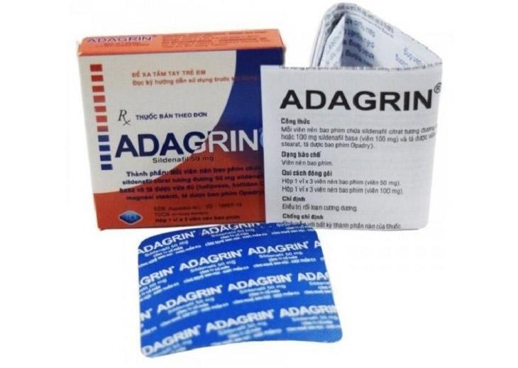 Thuốc trị liệt dương Adagrin