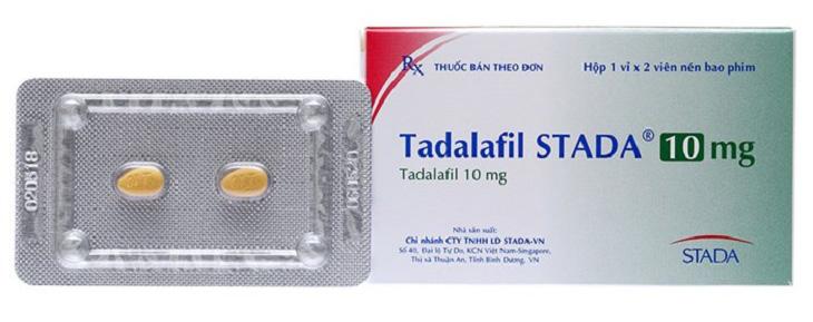 Tadalafil trị rối loạn cương dương
