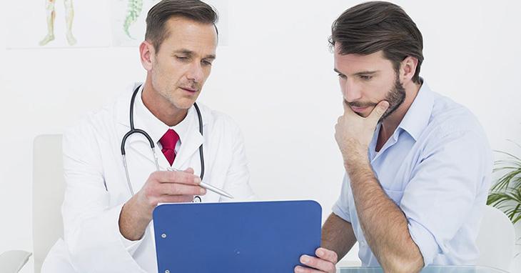 Bác sĩ sẽ tiến hành thực hiện các bước kiểm tra sức khỏe sinh lý nam