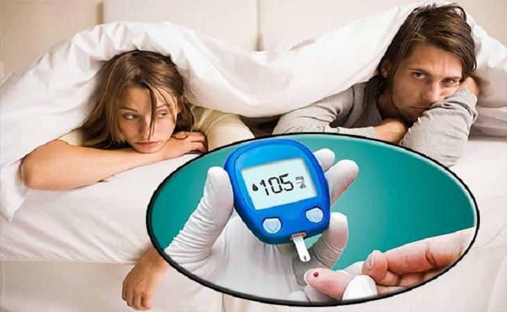 Bệnh tiểu đường có thể gây yếu sinh lý ở cả nam và nữ
