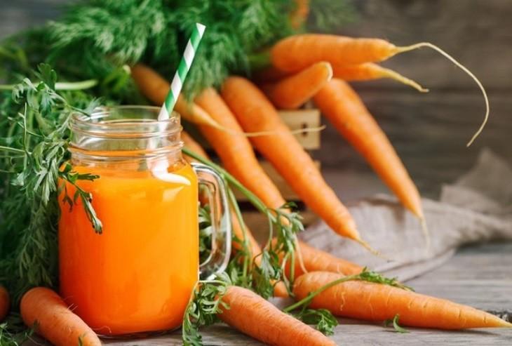 Cà rốt gây rối loạn kinh nguyệt từ đó làm giảm thiểu khả năng thụ thai ở nữ giới