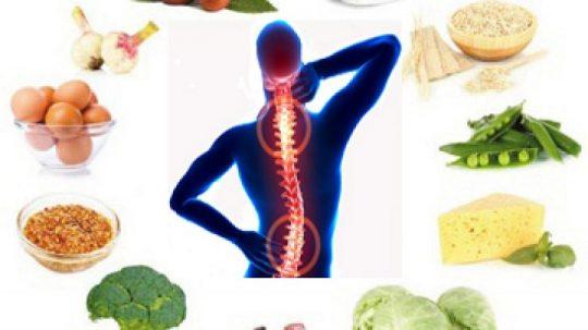 Thoái hóa cột sống nên ăn gì, kiêng gì? Chế độ dinh dưỡng tốt nhất