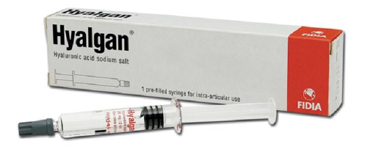 Hình ảnh thuốc tiêm Hyalgan trị viêm khớp được nhiều người tin dùng